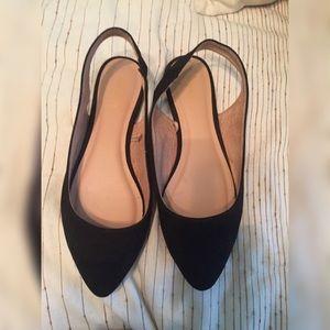 Old navy open heel Flats
